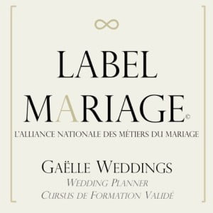 Label Mariage Gaëlle Weddings