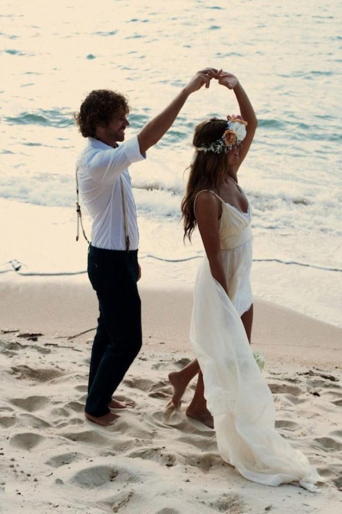 mariage sur la plage par plumetietstiletto